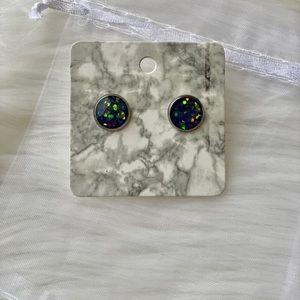 Chameleon-color shifting earrings